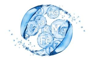 Fig.2. Acqua ad alto contenuto di minerali